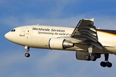 UPS Airbus A300F4-622R N124UP 6-15-17
