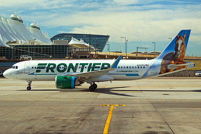 Frontier Airlines Airbus A320-251N N307FR 6-16-17