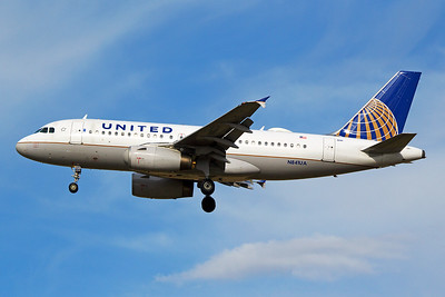 United Airlines Airbus A319-131 N841UA 6-15-17