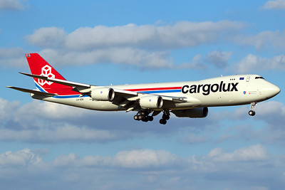 Cargolux Airlines International Boeing 747-8R7F LX-VCN 10-5-16