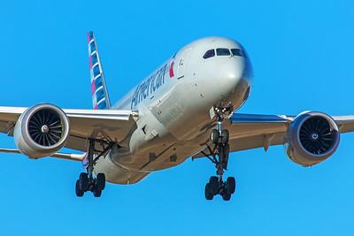 American Airlines Boeing 787-8 N807AA 12-10-17
