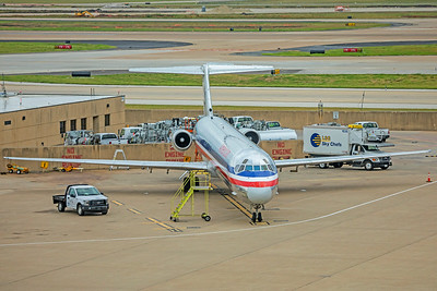 American Airlines McDonnell Douglas MD-83 9-3-18