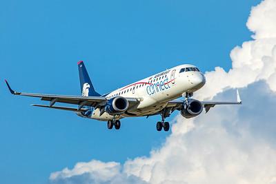 Aeroméxico Connect Embraer ERJ-190-100IGW XA-AEE 9-2-18