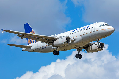 United Airlines Airbus A319-131 N853UA 9-2-18