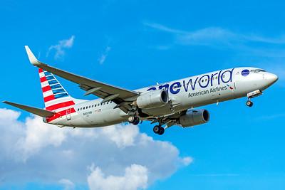 American Airlines Boeing 737-823 N837NN 9-2-18 2