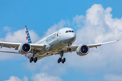 American Airlines Boeing 787-9 Dreamliner N836AA 9-2-18