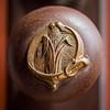 Door knob, Corn Belt Bank