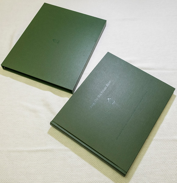 Along The Mackinaw River limited edition book & slipcase