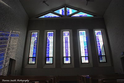 Stained Glass Window at Abbey of Gethsemani