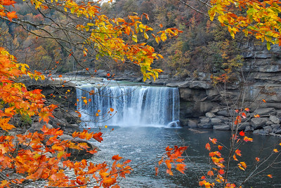Cumberland Falls - The little Niagara Falls