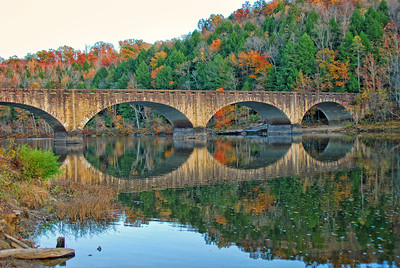 Gatliff Bridge at Cumberland Falls State Resort Park