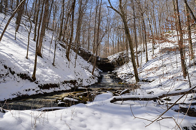 Winter at Dry Fork Gorge