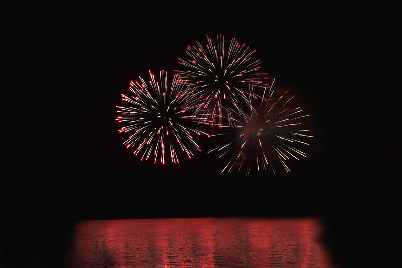 July 4th Fireworks at Barren River Lake State Resort Park