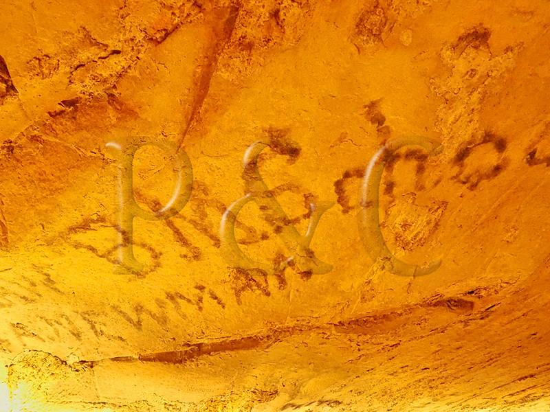 KY PARK CITY MAMMOTH CAVE NP CLEAVELAND AVENUE TOUR HISTORIC SMOKE GRAFFITI APRAF_4130309MMW