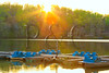 KY PENNYRILE FOREST STATE RESORT PARK BOAT DOCK SUNSET APRAF_MG_7927bMMW