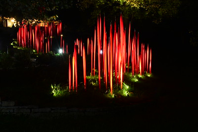 Red Reeds at Maker's Mark Distillery #ChihulyAtMakers