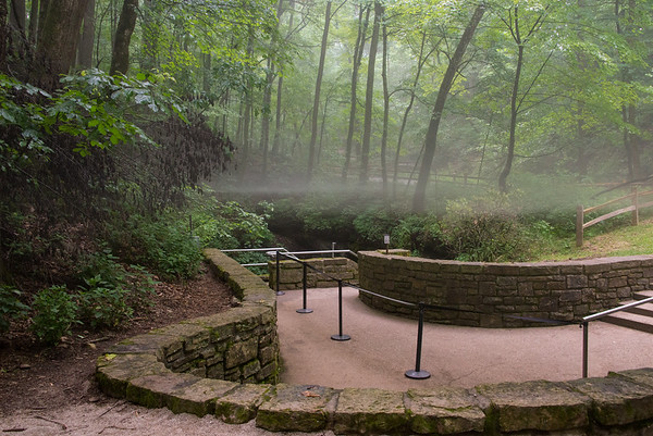 Historic Entrance at Mammoth Cave National Park