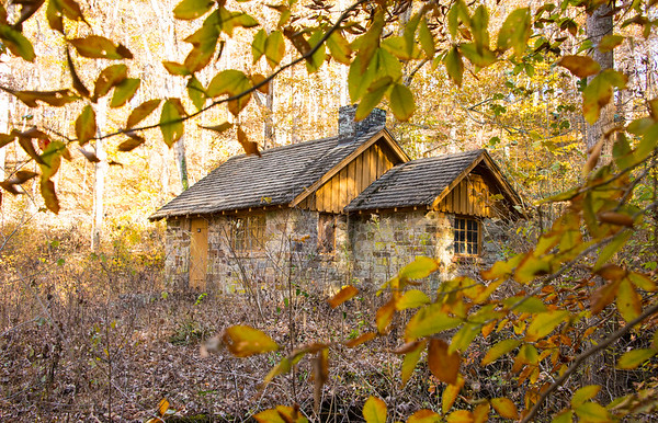 Historic Three Springs Pump House - Mammoth Cave National Park