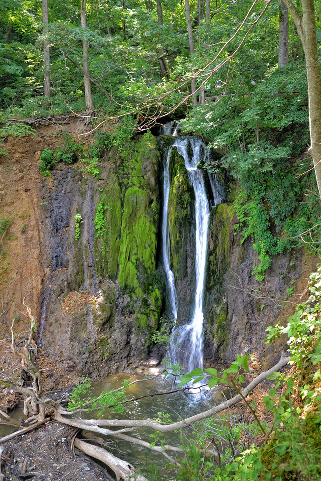Waterfall at Mill Springs Mill