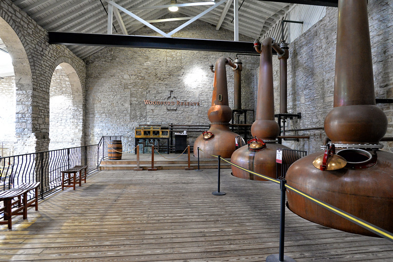 Woodford Reserve Distillery - The oldest and smallest distillery in Kentucky traces its origins to 1797 when Elijah Pepper began distilling in Woodford County. This National Landmark crafts Woodford Reserve Distiller's Select, the Official Bourbon of the Kentucky Derby. It is my understanding that this is the only copper pot still and triple distillation process used to handcraft Bourbon today. The tour of the distillery was very interesting. A great Discover Kentucky day trip. I didn't partake in the bourbon tasting at the end of the tour but I sure did enjoy the bourbon balls.