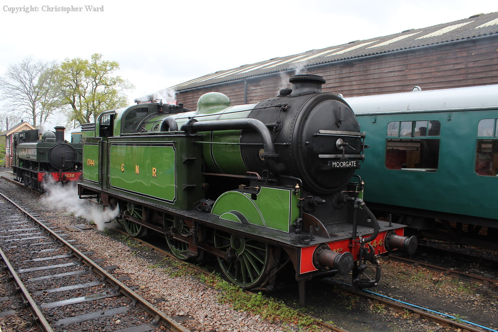 GNR and GWR bedfellows at Tenterden