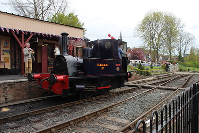 Marcia leaves Tenterden for the shed at Rolvenden