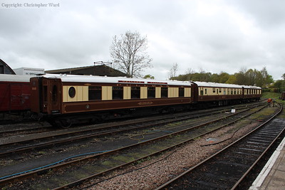 The stock of the Wealden Belle dining train