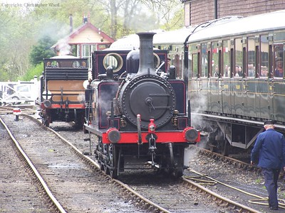 Stepney and Bodmin at Tenterden