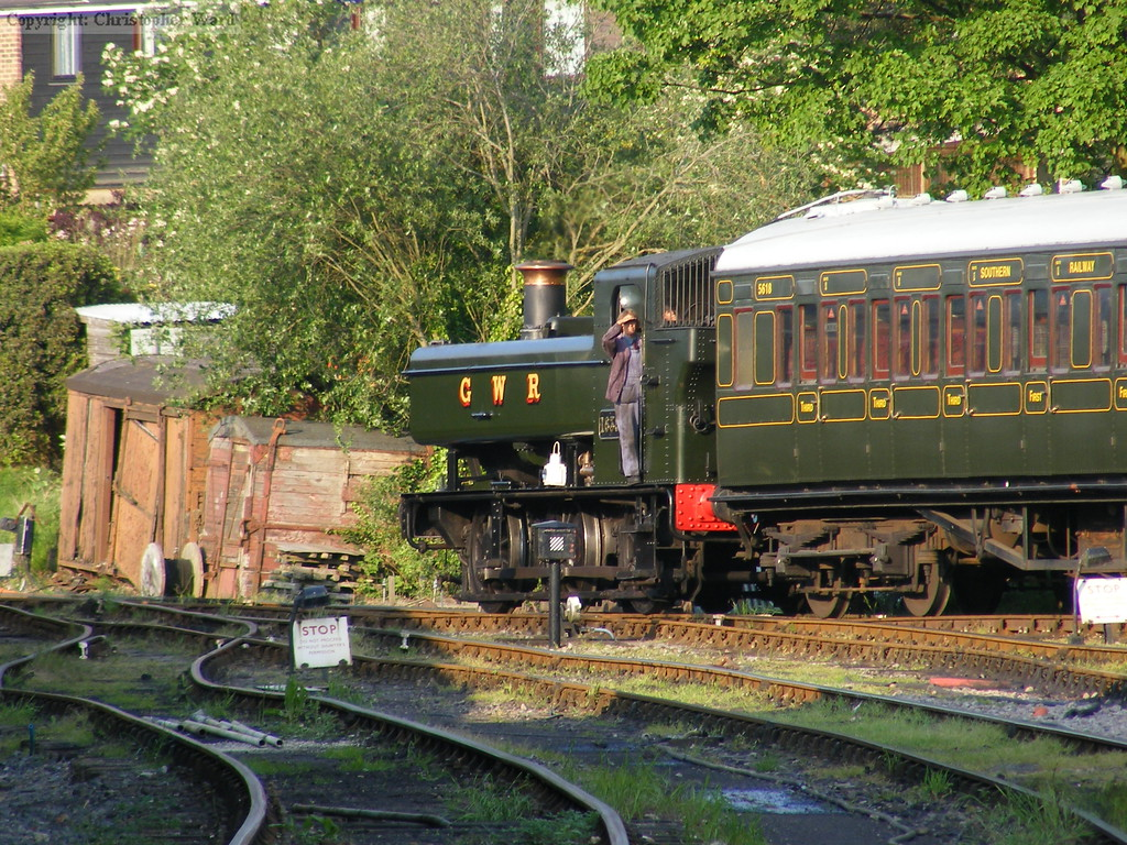 1638 shunts stock at Tenterden