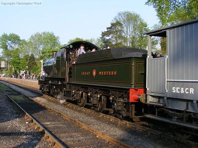 Truro tails the train