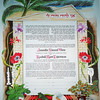 K 023 - House shaped Ketubah also brings in the colorful California seashore.