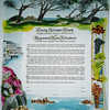 K 027 - Coastline of California where wedding took place is the highlight of this Ketubah.  Foremat is slightly different - only English text.
