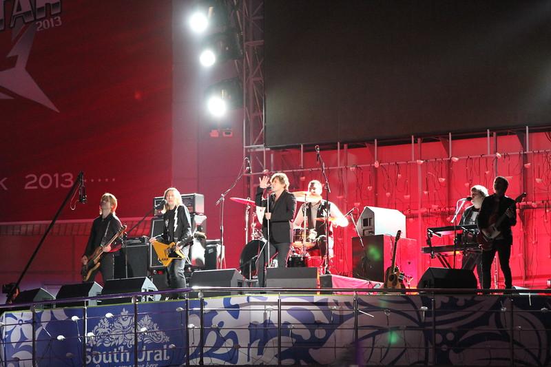 церемония открытия, фотографии, матч звезд КХЛ, Челябинск, 2013