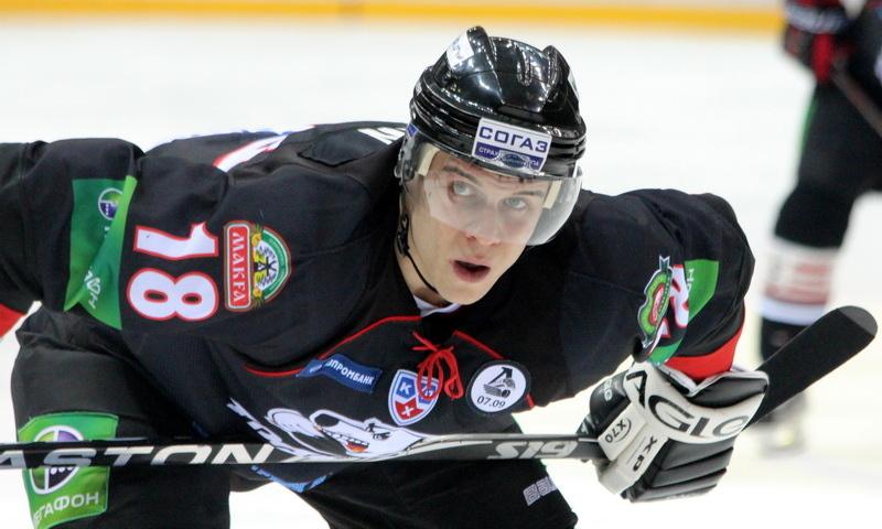 Максим Мамин, хоккеист, Трактор Челябинк, Сибирь Новосибирск