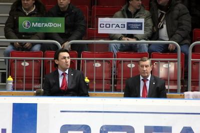 Равиль Гусманов и Валерий Белоусов