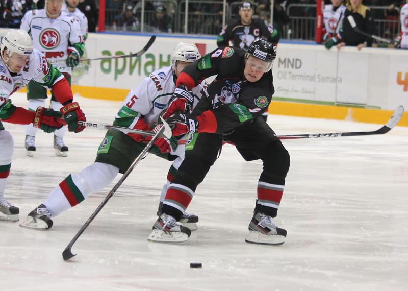 Андрей Попов, Трактор Челябинск, хоккей