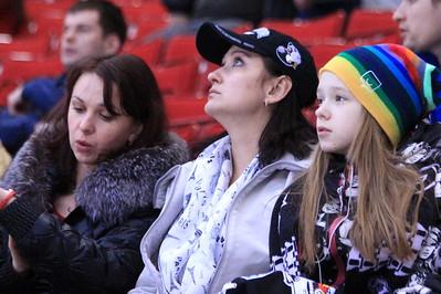 Женщины на хоккее