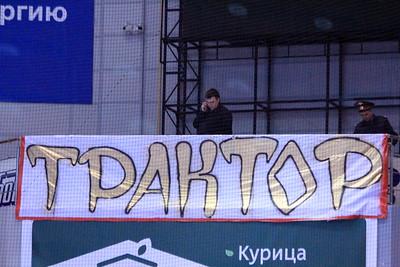 Трактор (Челябинск) - Авангард (Омск) 0:1. 6 апреля 2012