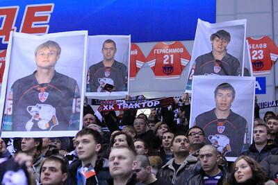 Трактор (Челябинск) - Югра (Ханты-Мансийск) 3:1. 1 марта 2012