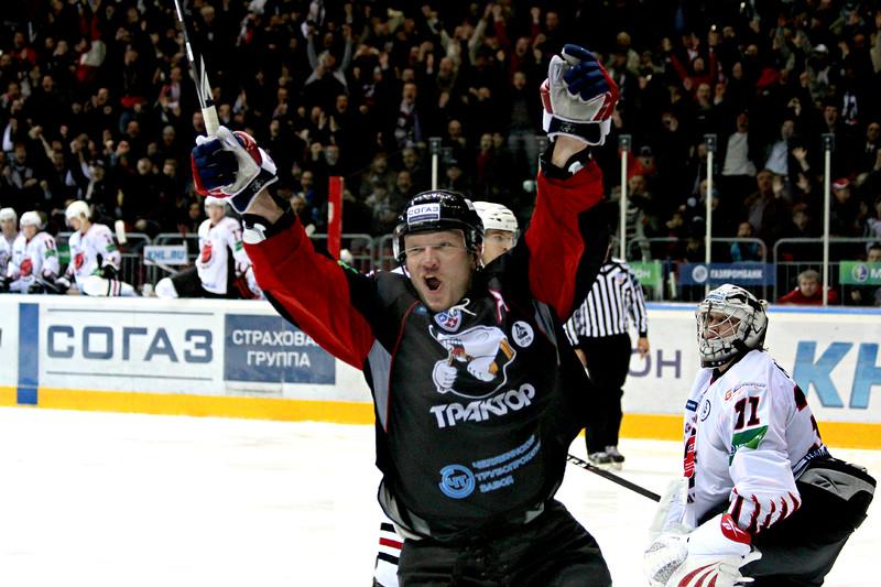 Константин Панов, Трактор Челябинск, хоккей