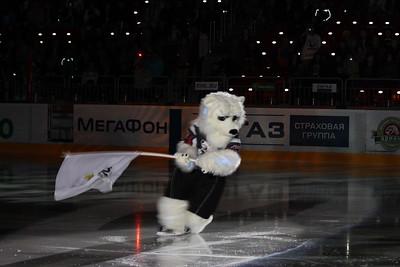 Трактор (Челябинск) - Авангард (Омск) 2:0. 2 октября 2011