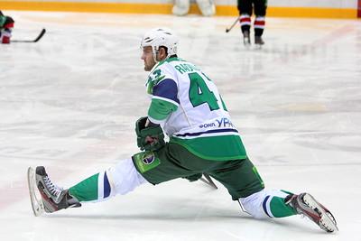 Трактор (Челябинск) - Салават Юлаев (Уфа) 2:1. 3 февраля 2012