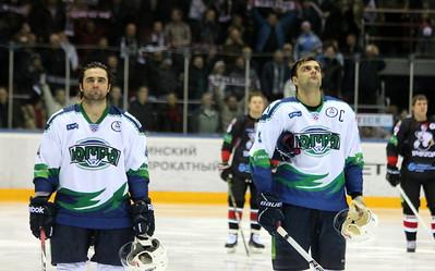 Дэнни Гру, Danny Groulx (слева) и Евгений Блохин, Еvgeny Blokhin