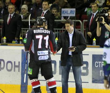 Антон Бурдасов и Михаил Юревич