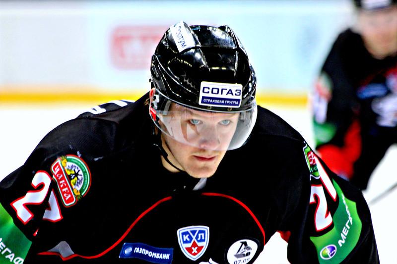 Петри Контиола, хоккей, Трактор Челябинск