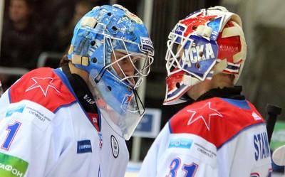 Беседа двух хоккейных вратарей
