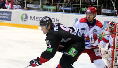 Андрей Попов перед воротами ЦСКА