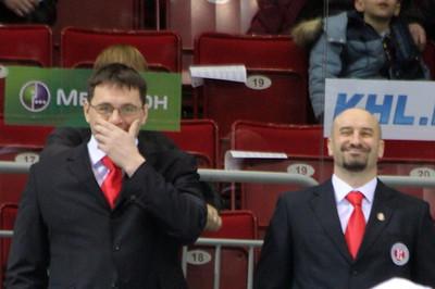 Андрей Назаров (слева)