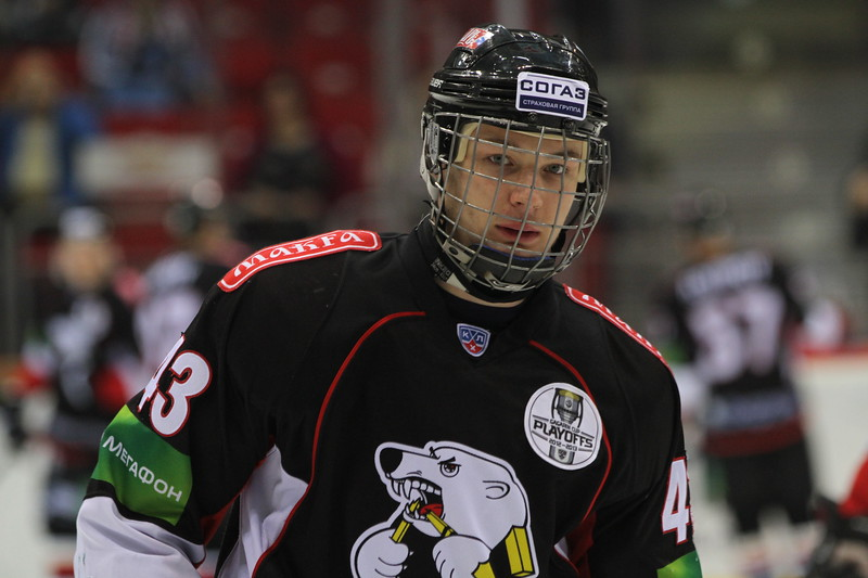 Валерий Ничушкин был выбран на драфте НХЛ десятым