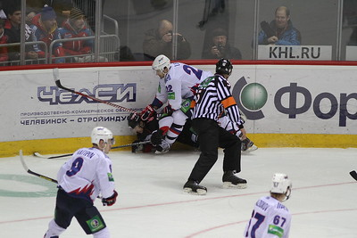 Трактор (Челябинск) - Металлург (Магнитогорск) 4:1. 23 января 2013